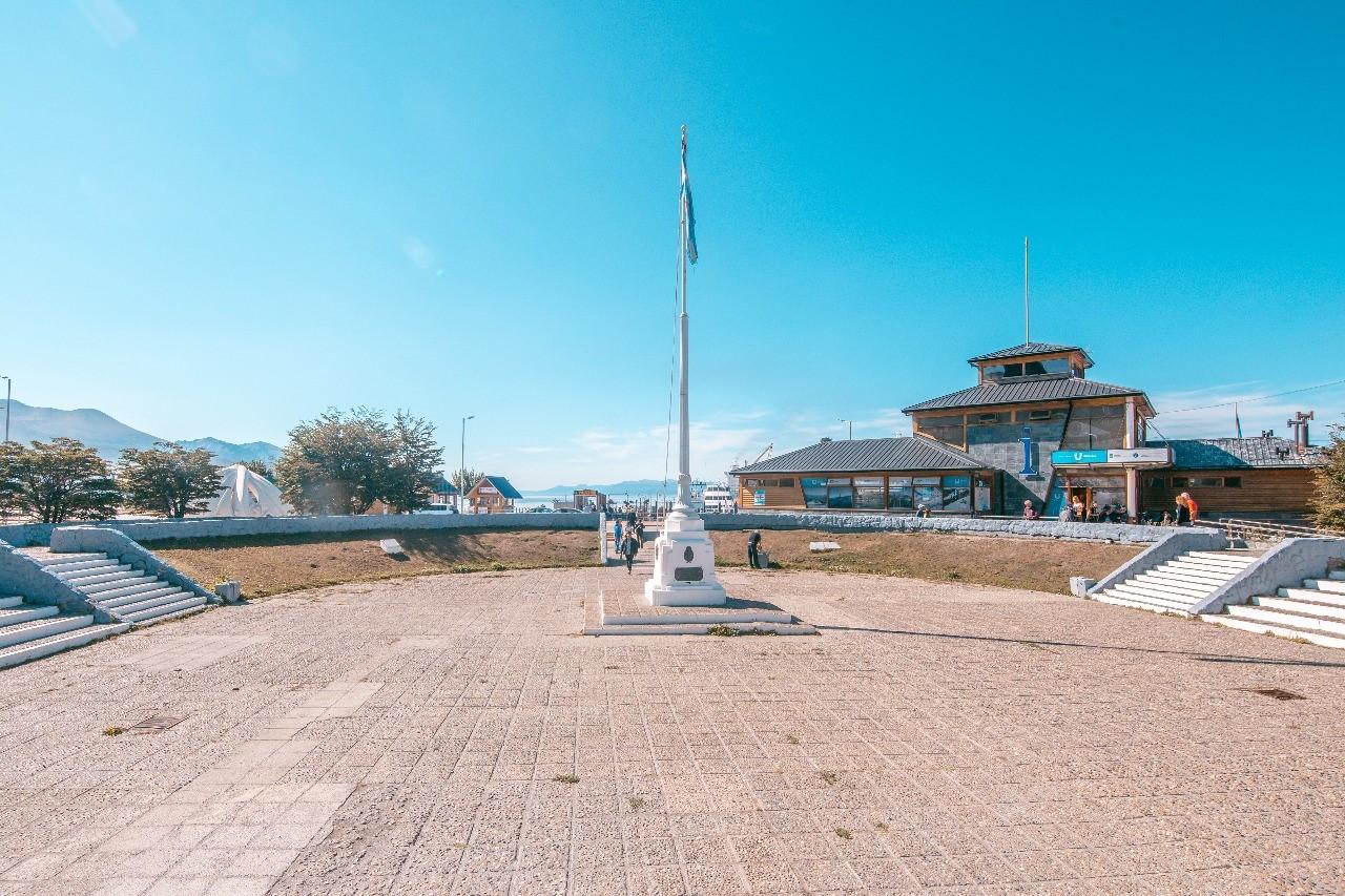 Remodelarán la Plaza Cívica de Ushuaia