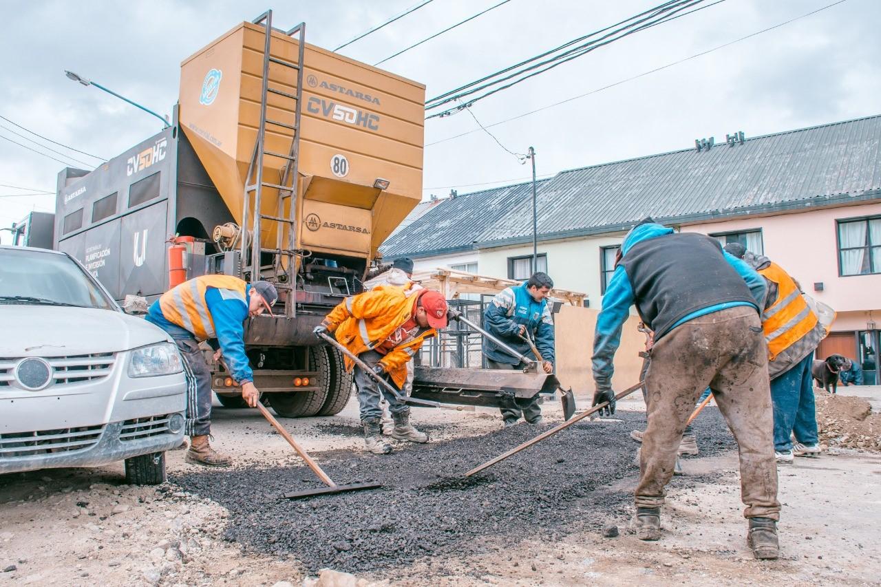 El municipio informó que avanza el plan de obras 18/19