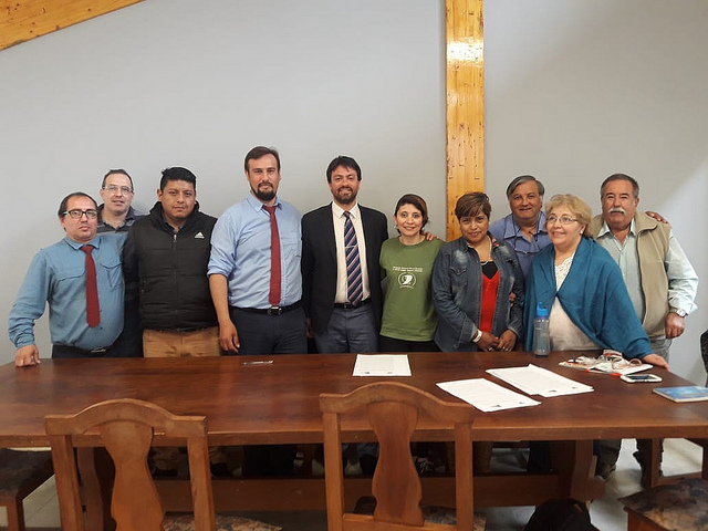 """El IPV y la cooperativa """"Desde Cero"""" suscribieron un convenio para la ejecución de obras"""