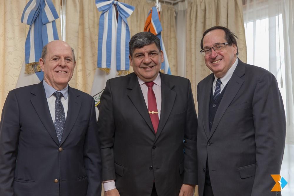 Los cónsules de Chile visitaron al Vicegobernador