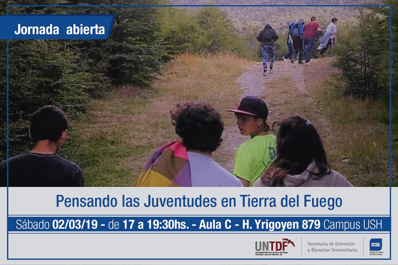 """Se realizará la Jornada abierta: """"Pensando las juventudes en Tierra del Fuego"""""""