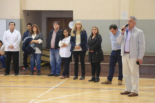 Romero se reunió con padres de las escuelas n°20 y 26