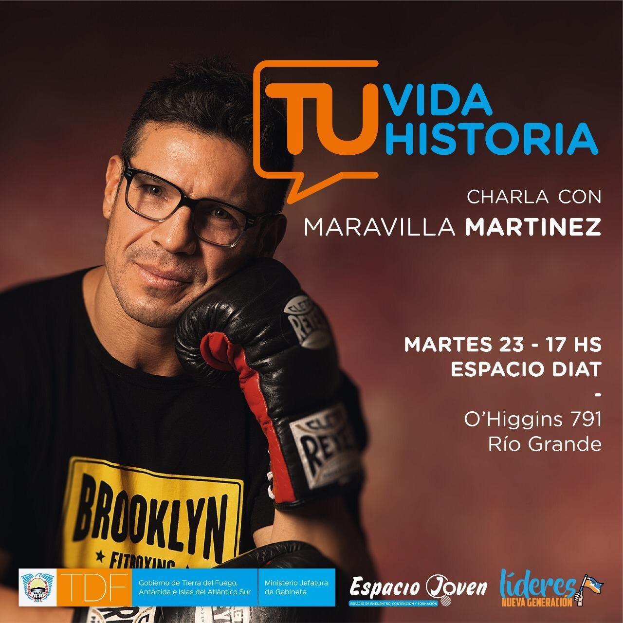 """Sergio """"Maravilla"""" Martínez brindará una charla motivacional"""