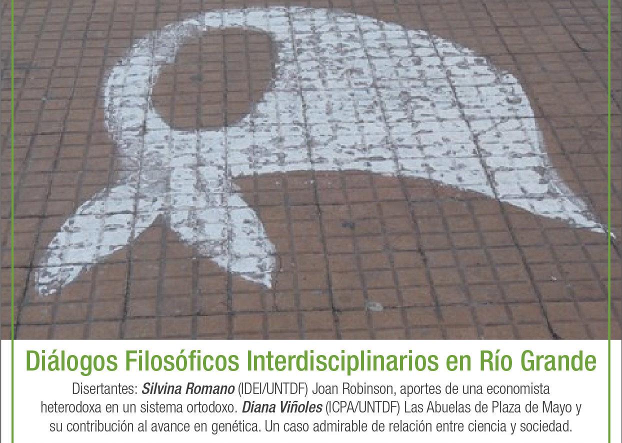 UNTDF: Invita a la charla enmarcada en el proyecto – Diálogos Filosóficos Interdisciplinarios